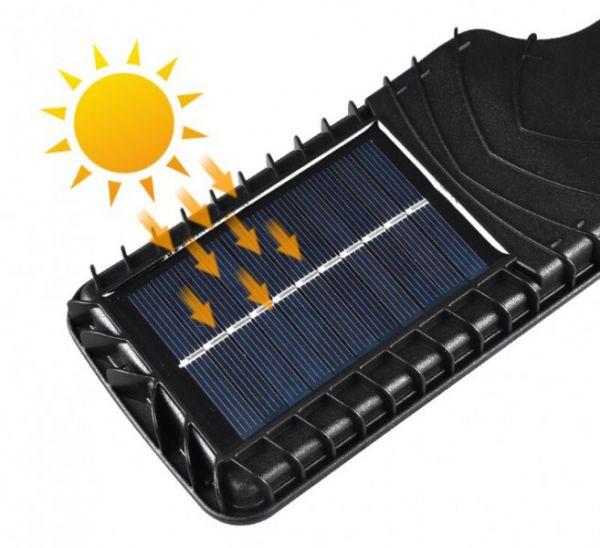 Светодиодный уличный светильник JX-616C на солнечной батарее