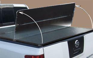 Жесткая трехсекционная крышка KRAMCO Nissan Navara D40
