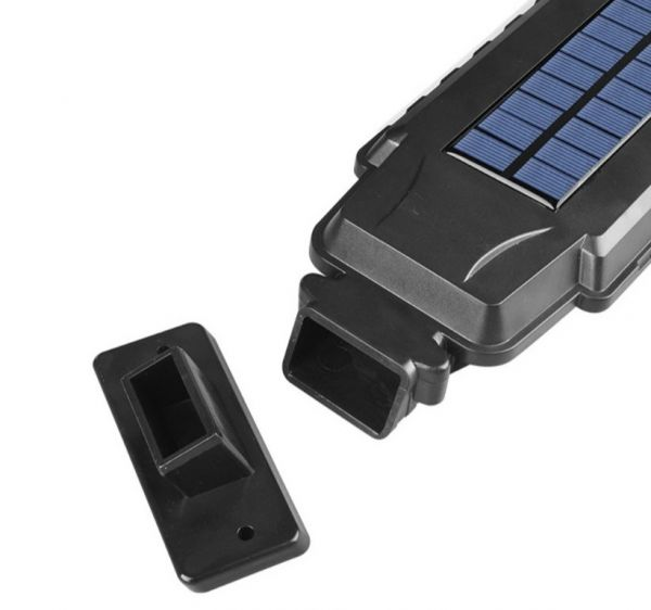 Уличный LED светильник YG-1401 на солнечной батарее с датчиком движения