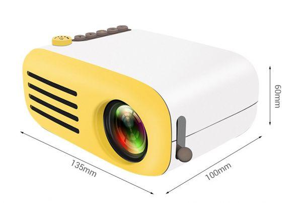 Портативный проектор LED YG-200