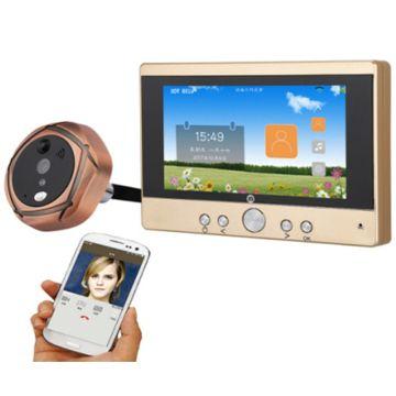 Wi-Fi видеоглазок с датчиком движения VDP 403