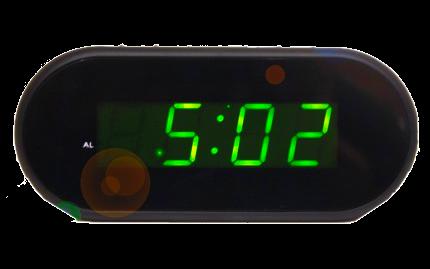 Электронные часы VST 712-2 (ярко зеленый)