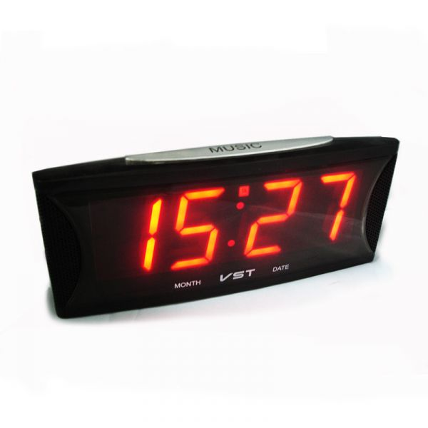 Электронные часы VST 719-1 (красный)