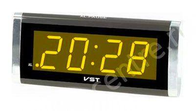 Электронные часы VST 730-3 (оранжевый)