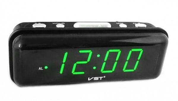 Электронные часы VST 738-2 (ярко зеленый)