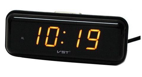 Электронные часы VST 738-3 (оранжевый)