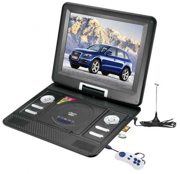 """Портативный DVD плеер XPX EA-1369D (14"""") с цифровым тюнером DVB-T2"""