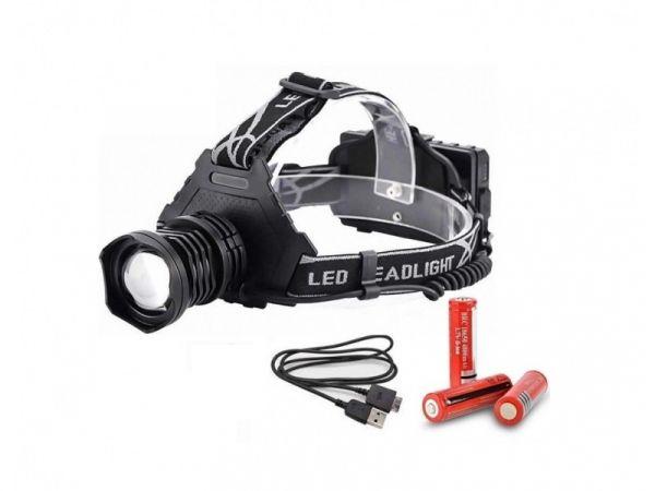 Налобный фонарь Огонь HT-799-P90